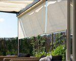 Coolfit rolgordijn Rolgordijn breed 2,96 x 2,4m -Antraciet